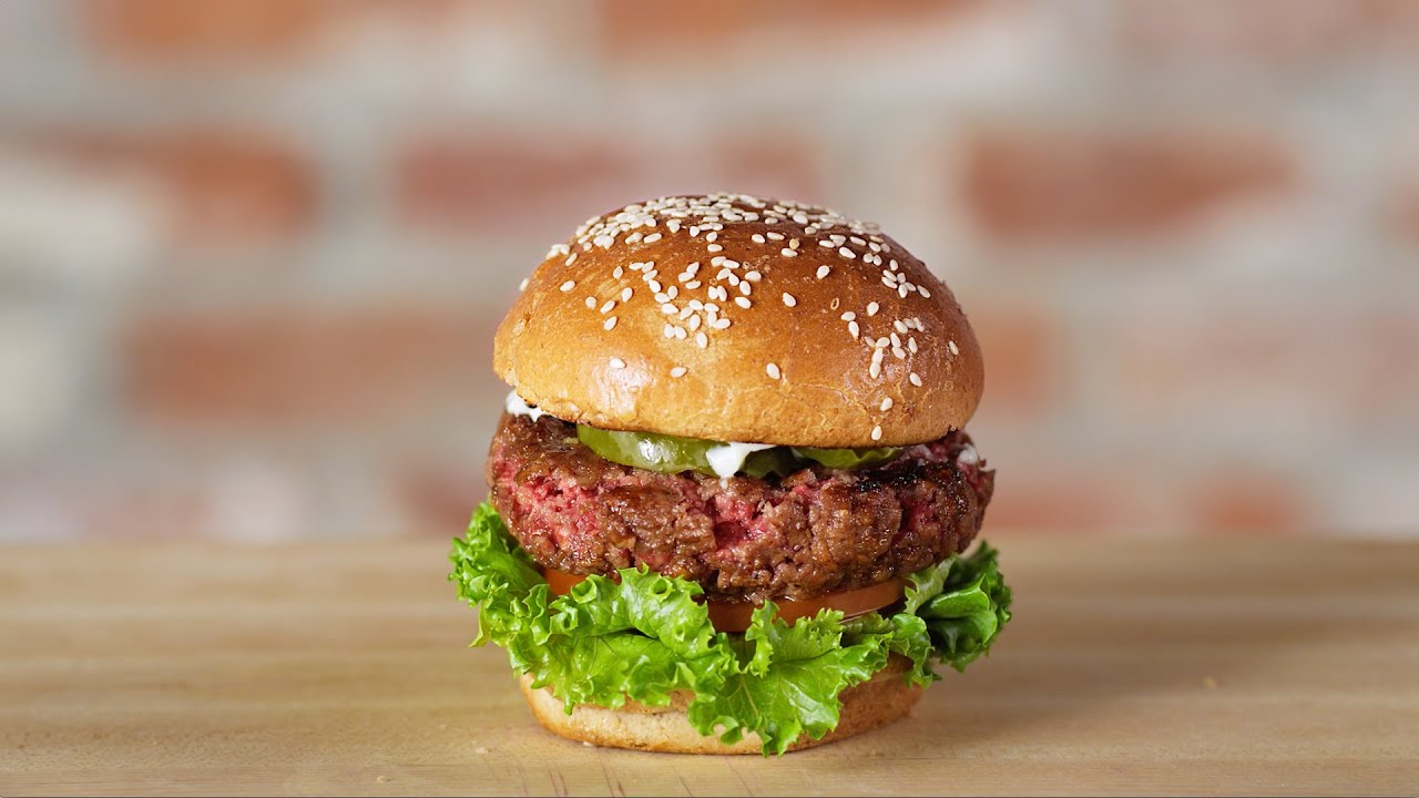 The Impossible Burger is a lab-made meatless treat for