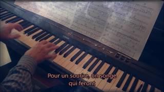 La vie est ailleurs (Coeur de pirate). Piano et arrangements: André Caron