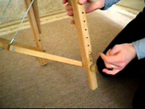 Table de massage pliante r glage des pieds youtube - Comment faire une table pliante ...