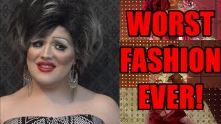 TOP 10 WORST DRAG RACE RUNWAY LOOKS!