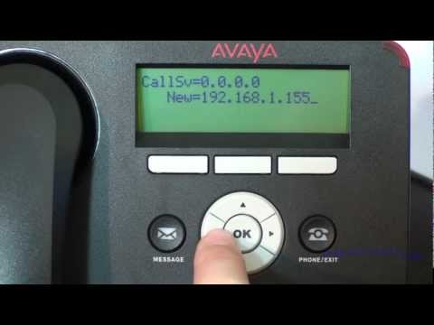 Installation and Configuration of Avaya 1600/9600 Series IP
