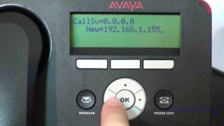 Installation and Configuration of Avaya 1600/9600 Series IP Telephones (NON-DHCP) - Avaya PBX - HD