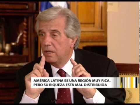 A Solas con Tabaré Vázquez, presidente de la República Oriental del Uruguay