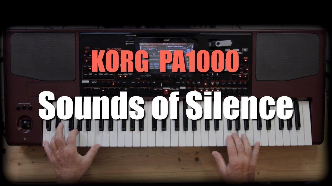 KORG PA1000 - Sounds of Silence #20