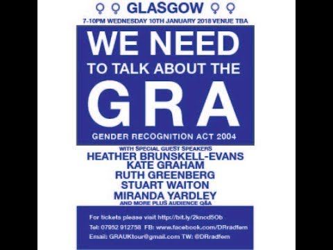 GLASGOW We Need To Talk About the GRA