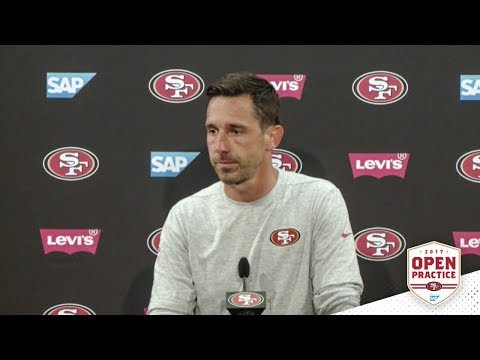Kyle Shanahan Describes Atmosphere of Open Practice