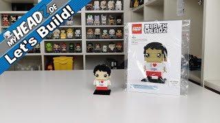 Let's Build! LEGO BrickHeadz #6302766 Cologne BrickHead (CCXP) im Review