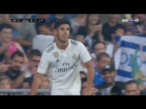 Marco Asensio vs Leganes (01/09/2018) HD 1080i   LaLiga