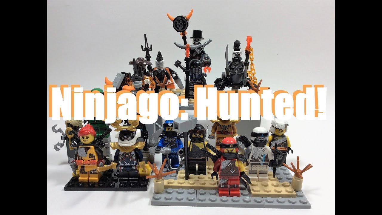 Lego Ninjago Hunted Custom Minifigures Youtube