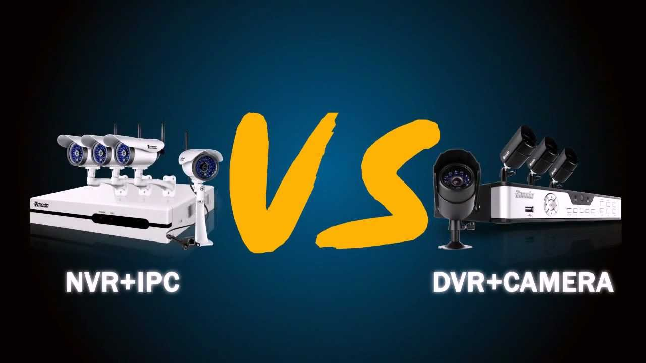 Cctv Video Surveillance Nvr Vs Dvr Youtube