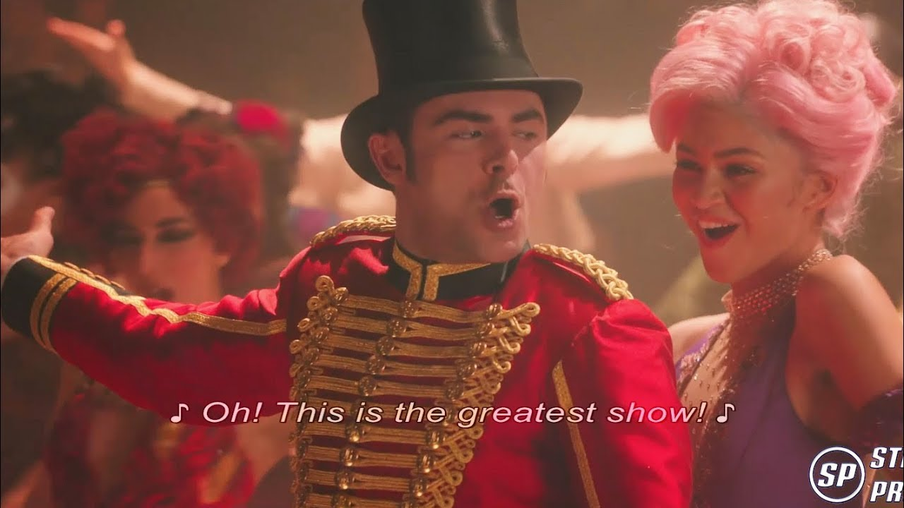 The Greatest Showman The Greatest Show Reprise 1080p Sub Youtube