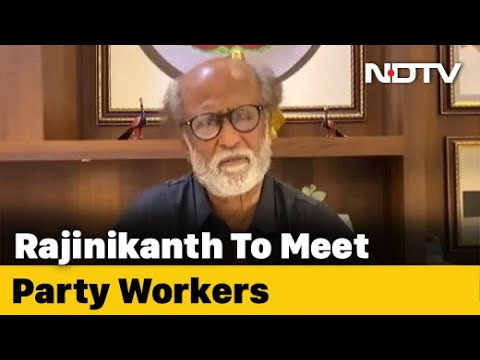 Rajinikanth To Meet Party Leaders To Decide On Political Plunge