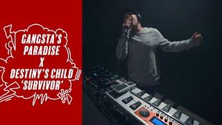Coolio - Gangsta's Paradise X Destiny's Child - Survivor (Sam Perry mashup)