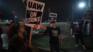 UAW Strike Begins at Flint GM plant