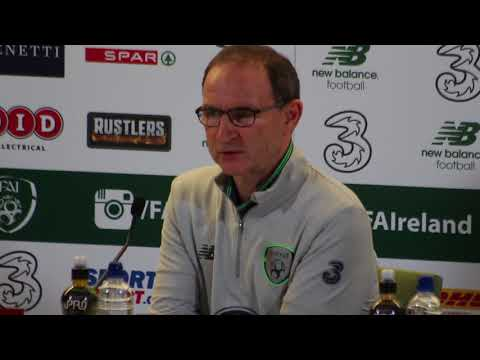 Martin O'Neill's reaction to Ireland's 5-1 playoff defeat to Denmark