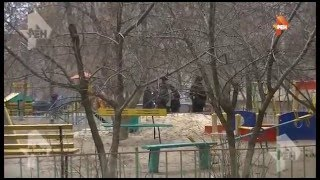 Видео штурма квартиры мужчины, открывшего стрельбу по полицейским в Волгограде   РЕН ТВ(, 2016-02-07T20:38:30.000Z)