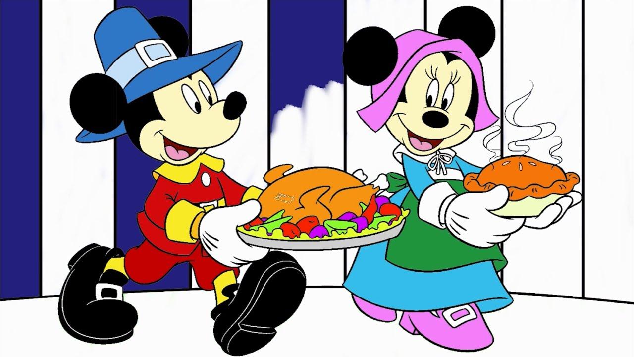 Mickey Mouse Miki Fare çizgi Film Karakter Boyama Minik Eller