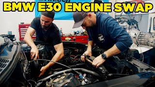 Engine Swapping our BMW E30