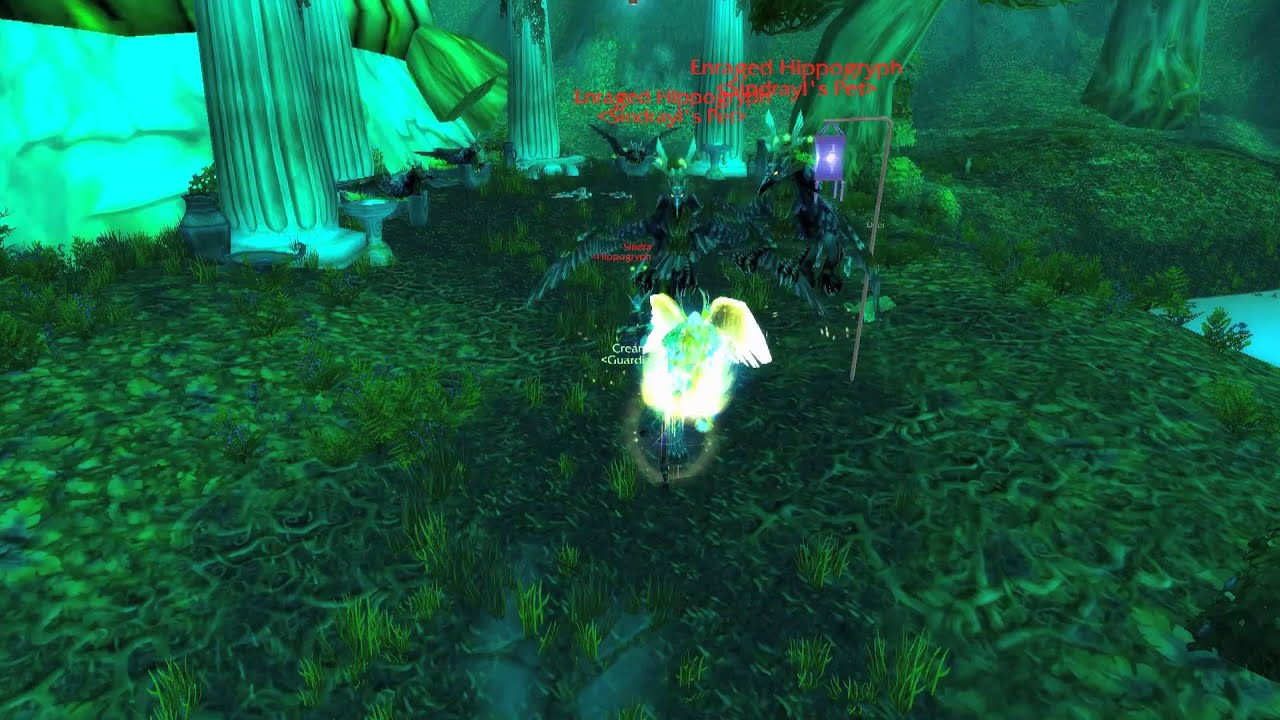how to get back to darnassus from moonglade - World of ...