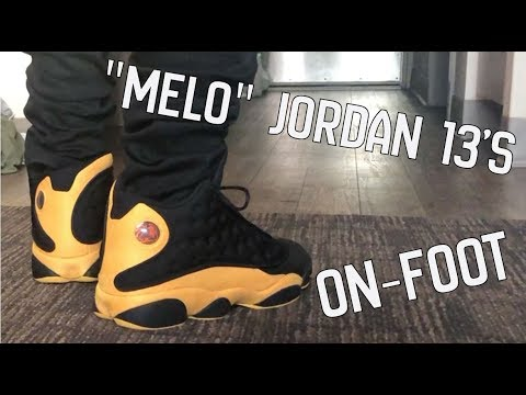 reputable site 00f27 b1adf MELO 13s! On Foot Only
