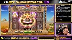 Pyramid Treasure 🎰 1255X EPIC WIN 🤑 80 Free Spins - BF Games ➤ LVBET Casino 🍀