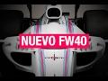 Williams FW40, el primer coche de la F1 2017 | SOYMOTOR.COM