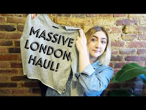 MASSIVE LONDON HAUL | Zara, Urban Outfitters, Oliver Bonas, etc.