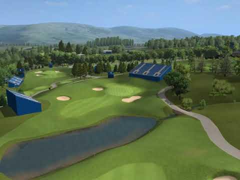 Gleneagles Ryder Cup - Hole 16