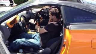 Lamborghini Orange Custom Celica Modified For Paralyzed Driver