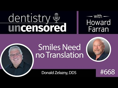 668 Words of Wisdom with Donald Zelazny, DDS : Dentistry Unc