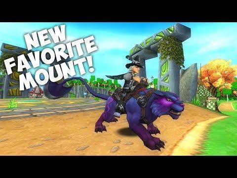 Wizard101: NEW MOONBLADE PANTERA MOUNT! : LightTube