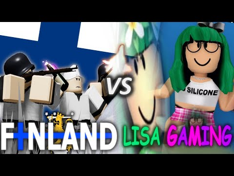 FInland VS Lisa Gaming (Feat. Simo Häyhä & Lauri Törni)