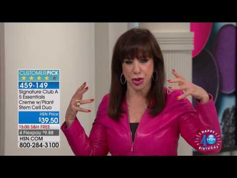 HSN   Signature Club A by Adrienne Beauty Celebration 07.17.2017 - 10 AM