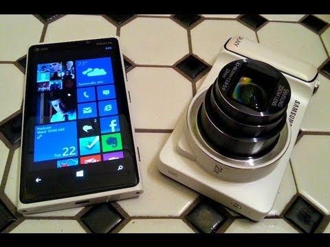 Samsung Galaxy Camera vs Nokia Lumia 920