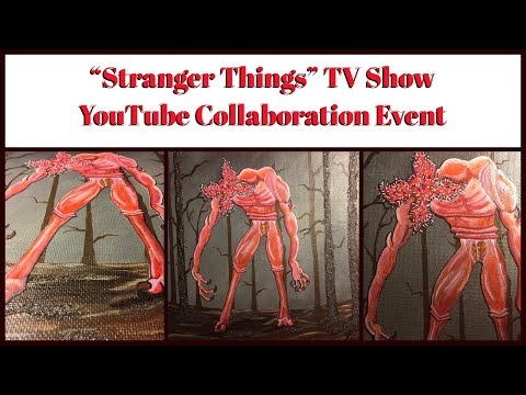 """""""The Lurking Beast of the Upside Down"""" / """"Stranger Things"""" YouTube Collab #strangerthingscollab"""