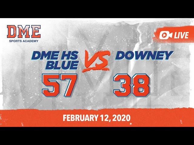 DME Blue vs Downey