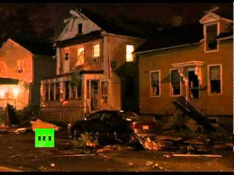 Mad Twisters: Video of deadly Springfield MA tornado aftermath