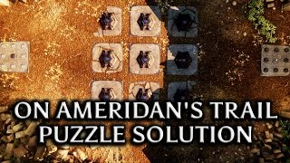 Dragon Age: Inquisition - Jaws of Hakkon DLC - 'On Ameridan's Trail' Puzzle solution