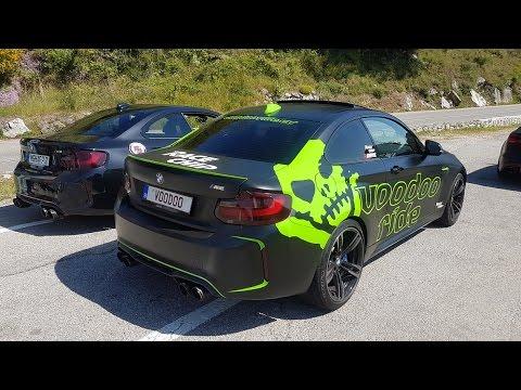 BMW M2 PP-Performance vs BMW M2 Voodoo - Fi Exhaust vs Akrapovic SOUNDS!!
