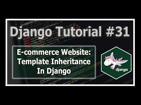 Template Inheritance In Django | Python Django Tutorials In