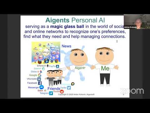Building Online Environments For Social AI Agents With Aigents - Anton Kolonin
