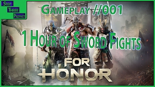 (For Honor Beta) 1 hour of sword fights with Giraffe | Gameplay //001