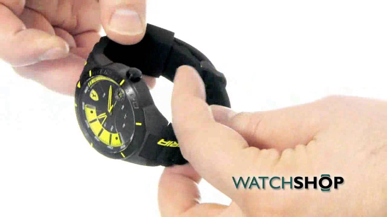 Scuderia Ferrari Men's Redrev Evo Chronograph Watch (0830297 .