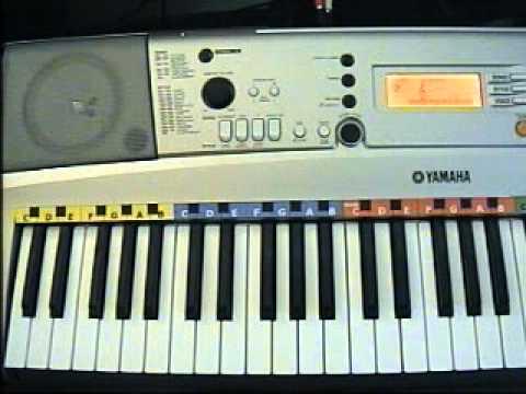 Oh susanna for yamaha psr e313 keyboard youtube for Yamaha psr 410 keyboard