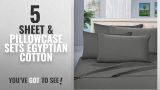 Top 10 Sheet & Pillowcase Sets Egyptian Cotton [2018]: Thread Spread True Luxury 100% Egyptian