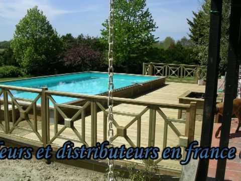 Montage piscine bois waterclip for Piscine cristaline