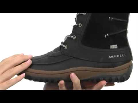 b1c1dad9cca3a1 Merrell Decora Prelude Waterproof SKU  8176150 - YouTube