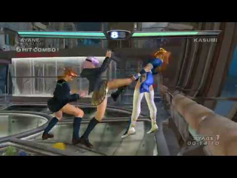 [ DEAD OR ALIVE 3 ] Tag Time Attack with Kasumi (Cos.5 Braid) and Ayane (Cos.3)