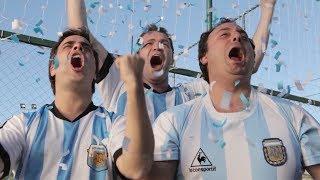 Juguemos con Gloria en Brasil - Voxpop Acapellaband - Canción Argentina Mundial 2014