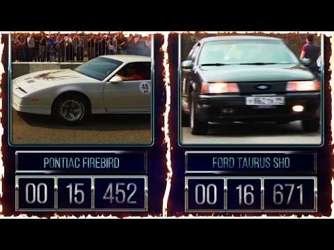 PONTIAC FIREBIRD vs FORD TAURUS SHO (RWDrags 2019)